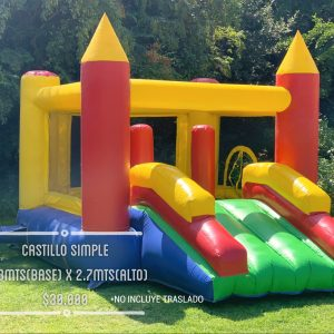 castillo inflable simple